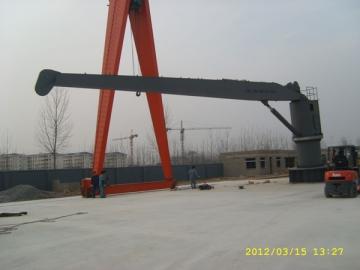 Cargo Crane Pengendalian Kapal