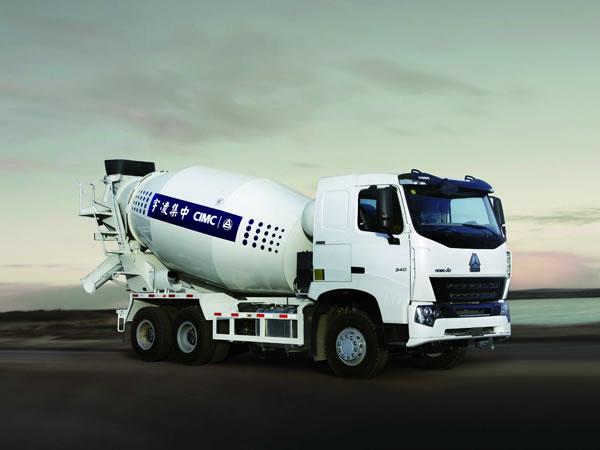 6-12m<sup>3</sup> LNG Trak Penggaul Konkrit (Casis Howo)