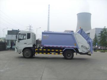Trak Sampah dengan Pemadat