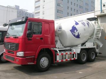 8-10m<sup>3</sup> Trak Penggaul Konkrit (Casis Howo)
