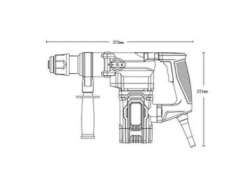 Gerudi Tukul Putar SDS PLUS 26mm