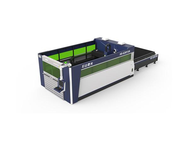 G3015A Mesin Pemotongan Laser Serat dengan Platform Kerja Berganda
