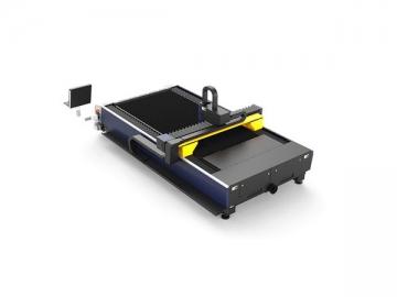 G3015C Mesin Pemotongan Laser Serat dengan Gear Rak Pemacu Dua