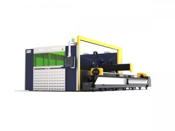 G3015E Mesin pemotongan laser serat dengan pelindung