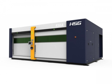 3D Mesin Robotik Pemotongan Laser 6 Paksi