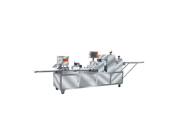 Mesin leper tepung tiga penggelek