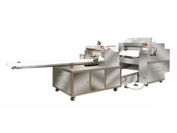 Mesin Leper dan Pemotong Doh Automatik
