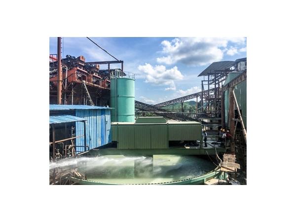 Pembeku Gred Tinggi, proses penebalan enap cemar dalam rawatan air sisa